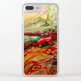 Abstract 15 Clear iPhone Case