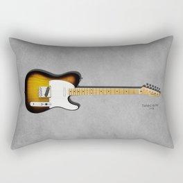 The 58 Telecaster Rectangular Pillow