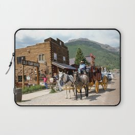 Catch the Afternoon Stage out of Silverton Laptop Sleeve