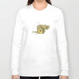 Gold Arowana Long Sleeve T-shirt