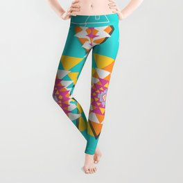 Happy tribal decor Leggings