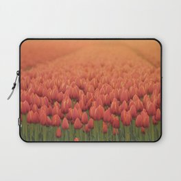 Tulips field 11 Laptop Sleeve