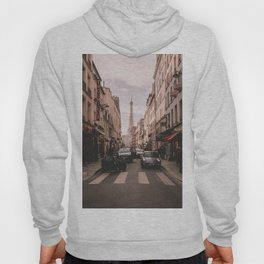Vintage Paris, France (Color) Hoody