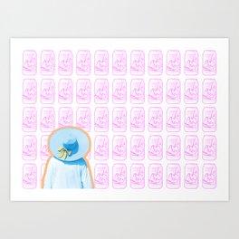 lost in la croix Art Print