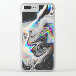 CONFUSION IN HER EYES THAT SAYS IT ALL Clear iPhone Case