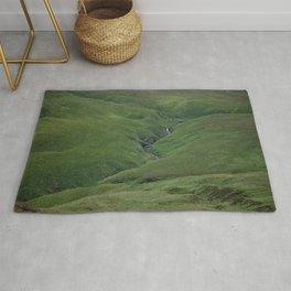 Green Carpet Rug