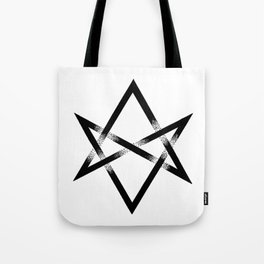 Unicursal Hexagram Tote Bag