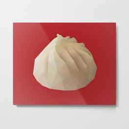 Xiao Long Bao polygon art Metal Print