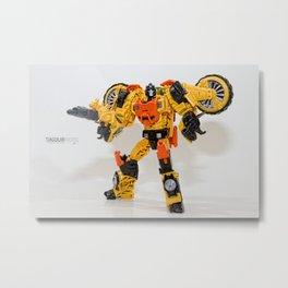 Autobot Sandstorm Metal Print