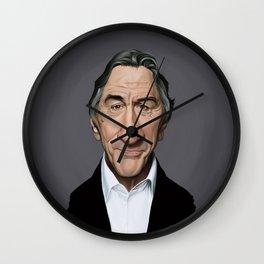 Celebrity Sunday - Robert De Niro Wall Clock