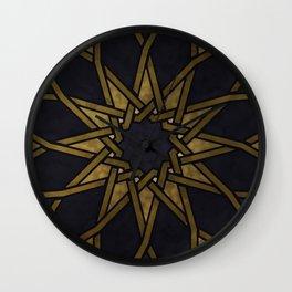 Islamic Pattern - Islamic Ornament - Arabian Pattern Wall Clock