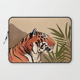 Tiger Boho Landscape Laptop Sleeve