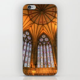 The Chapter House York Minster iPhone Skin
