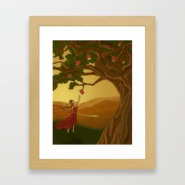 Knowledge Framed Art Print