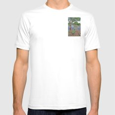 The fishing boat White MEDIUM Mens Fitted Tee