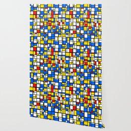 Mondrian Style 2 Wallpaper