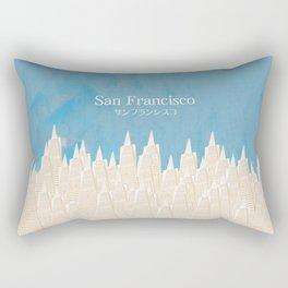 San Francisco TA Rectangular Pillow