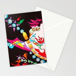 Chakra Burst Stationery Cards