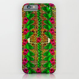 tree flower paradise of inner peace and calm pop-art iPhone Case