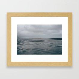 Kites in a Storm Framed Art Print