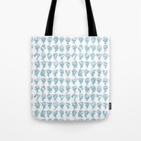 hats Tote Bags featuring Hats by Billington