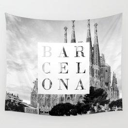 Barcelona Wall Tapestry