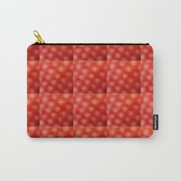red abstraction – gradient, ombré,warmth,fire,energy,minimalism Carry-All Pouch