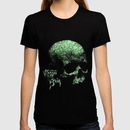 Maggot Brain Skull T-shirt