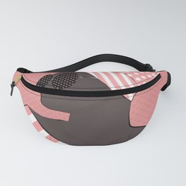 A black woman in sunglasses16 Fanny Pack