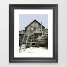 An Old Fashioned Christmas Framed Art Print