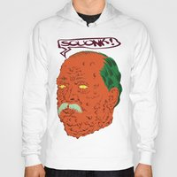 cleveland Hoodies featuring Squonk Grover Cleveland  by @DrunkSatanRobot
