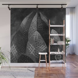Lotus Temple by Lu, Black and White Wall Mural