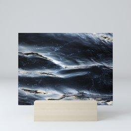Sea Water Surface Texture 1 Mini Art Print