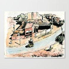 La rue - The street Canvas Print