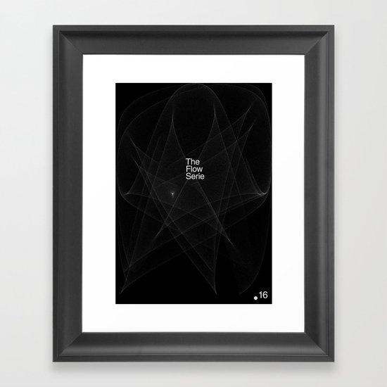 The Flow Series #16 Framed Art Print
