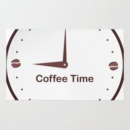 It is the Coffee time - I love Coffee Rug