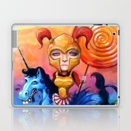 The Candy Warrior Laptop & iPad Skin