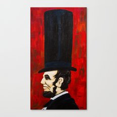 Abraham Lincoln -f Canvas Print