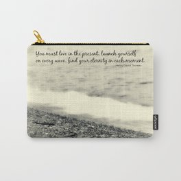 Inspirational Vintage Beach Photography Carry-All Pouch