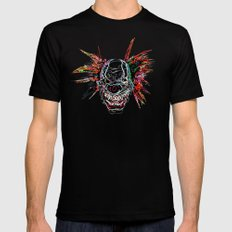 Psychedelic Clown Black MEDIUM Mens Fitted Tee