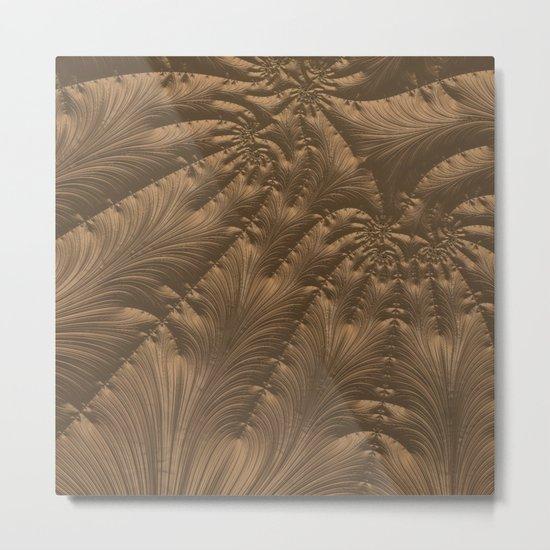 Renaissance Brown Metal Print