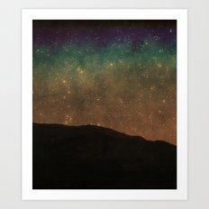 Star Light Vertical Art Print