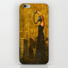 Living in a Nuclear World iPhone Skin