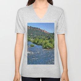 American River III Unisex V-Neck
