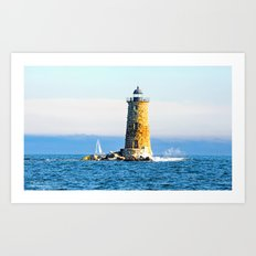 Calm Waters Art Print
