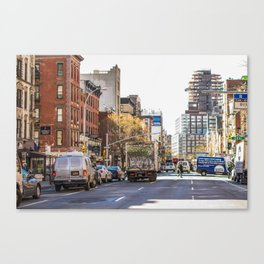 Street View Canvas Print