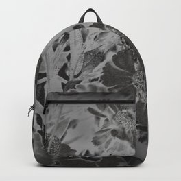 Daisy Design in Black and White Backpack
