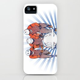 Cool Runnings - Bobsleigh 4 men team iPhone Case