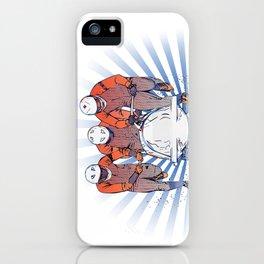 Cool Runnings - Bobsleigh 4 men team iPhone Case