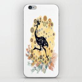 Little ostrich in colors iPhone Skin